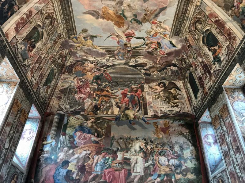 Потолочные и настенные фрески