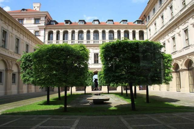 Сад Чернинского дворца (Černínský palác)