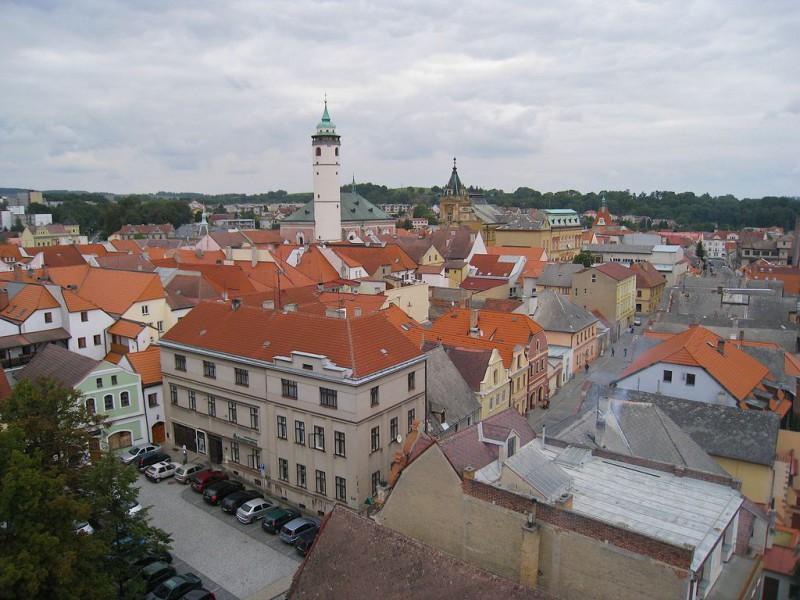 Вид на Домажлице (Domažlice)