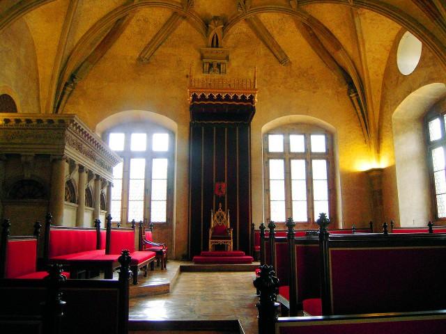 Зал заседаний сейма (sál Staré sněmovny)
