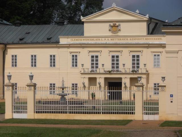 Замок Кинжварт (zámek Kynžvart)