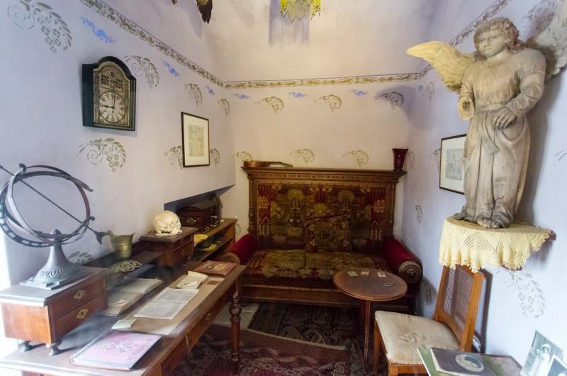 Дом ясновидящей Матильды Прушовой