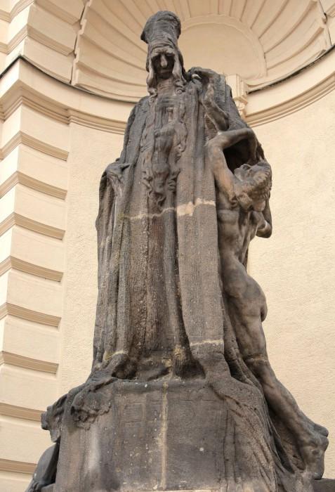 Скульптура рабби Лёва бен Безалела