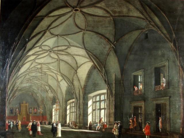 Владиславский зал, Ludvík Kohl, 1810-1820гг.