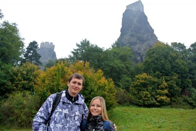 Крепость Троски (Trosky)