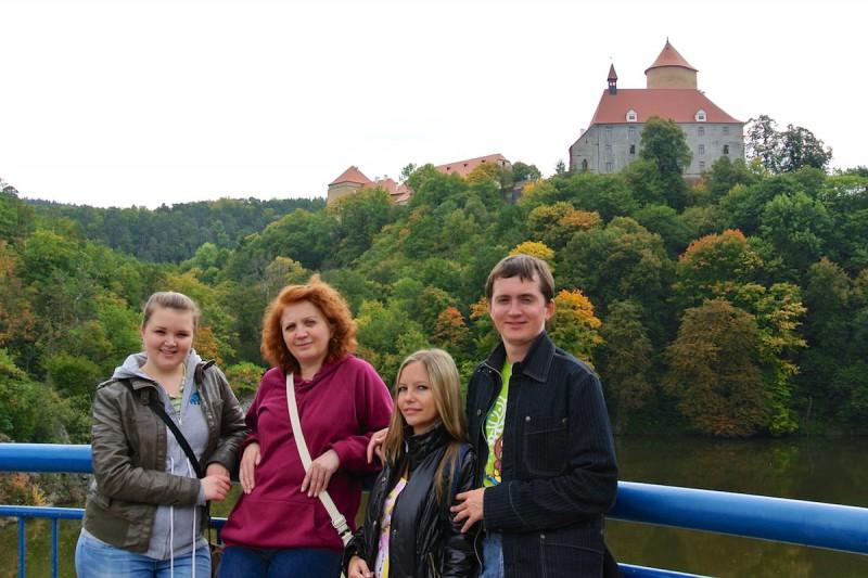 Прогулка к замку Белочки с Михаилом Шварцем