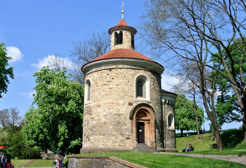 Ротонда святого Мартина – старейшее здание Вышеграда