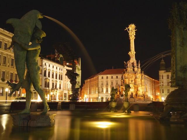 Колонна Пресвятой Троицы (Sloup Nejsvětější Trojice v Olomouci)