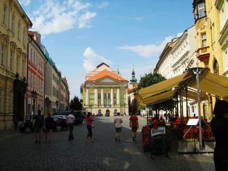 Площадь Фруктовый рынок (Ovocný trh)