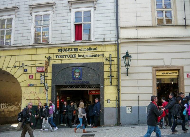 Вход в Музей пыток
