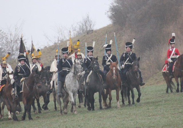 Реконструкция битвы под Аустерлицем (Bitva u Slavkova)