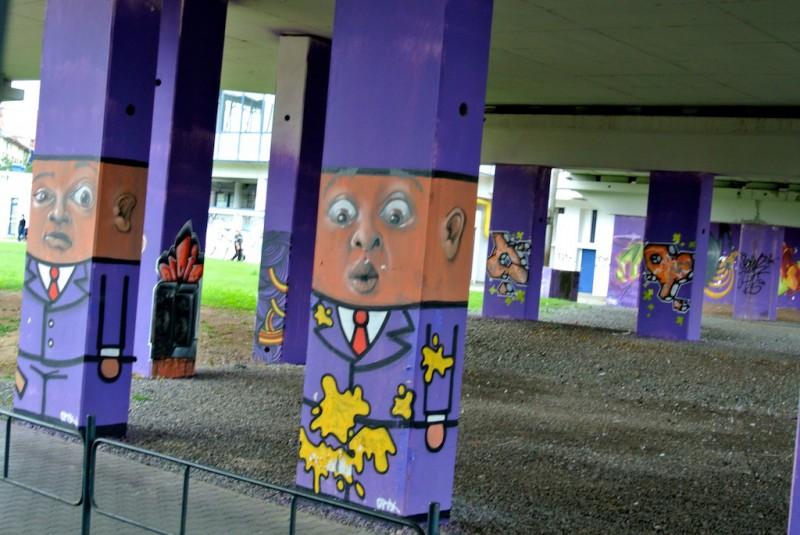 Уличное искусство Брно