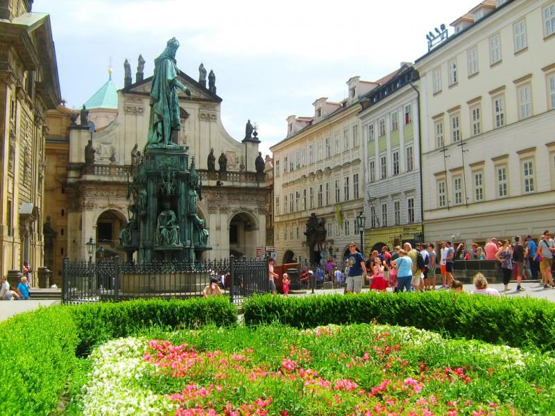 Площадь Крестоносцев (Křížovnické náměstí)