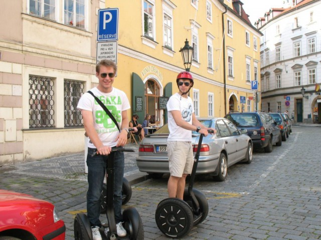 Экскурсия по Праге на Сигвэях