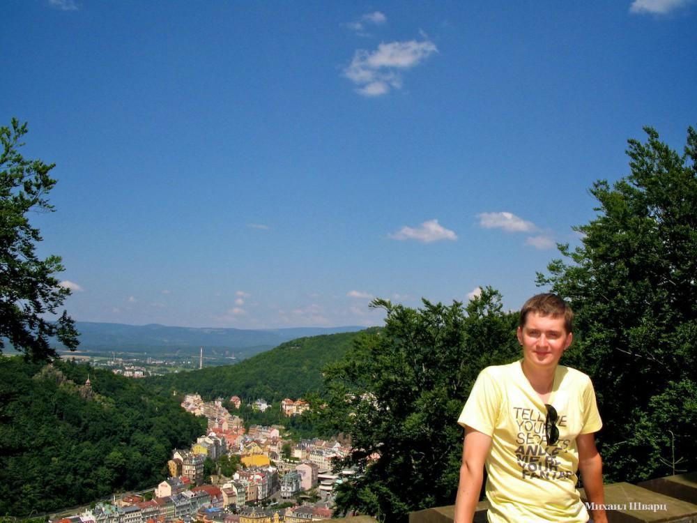 Вид с башни Карла IV
