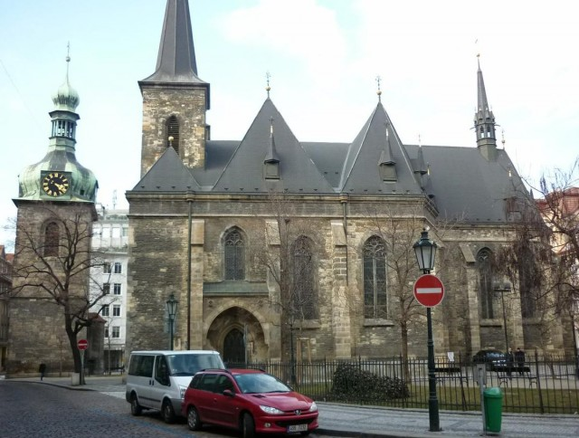 Костёл Святого Петра на Поржичи (Kostel sv. Petra Na Poříčí)
