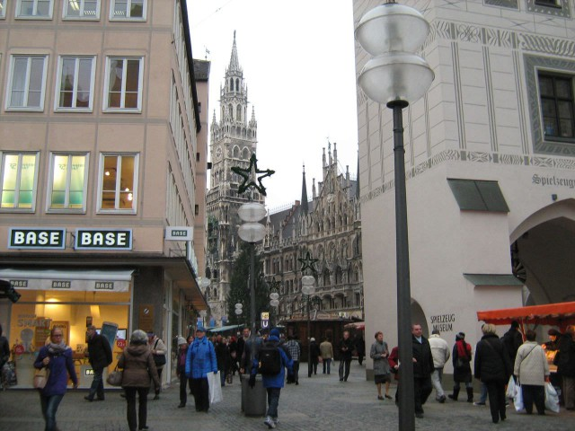 Мюнхен готовится к Рождеству