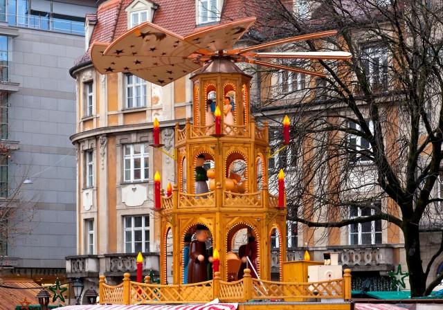 Мюнхен готовится к Рождеству.