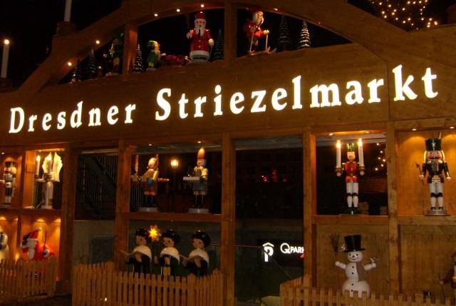 Рождественский рынок Штрицельмаркт (Striezelmarkt)