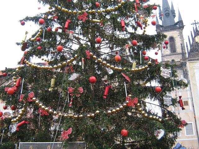 Зимние праздники в Чехии
