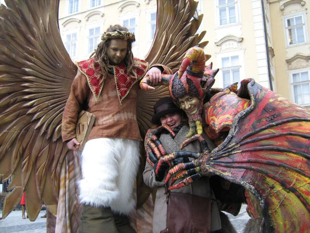 На Рождественской ярмарке