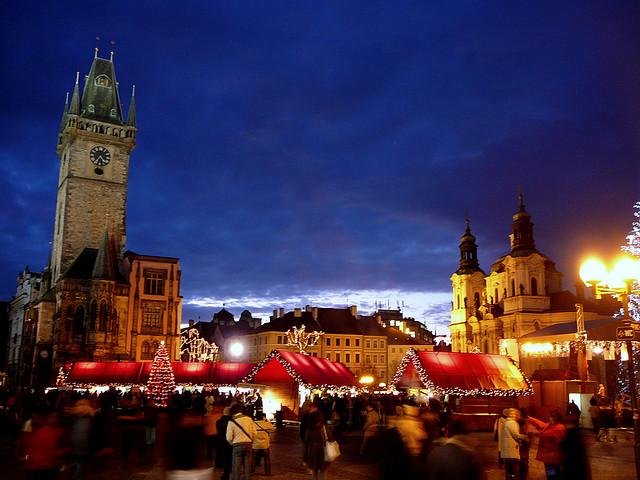 Путеводитель по рождественским ярмаркам в Праге