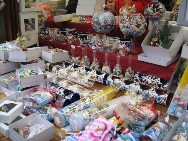 На Рождественском базаре
