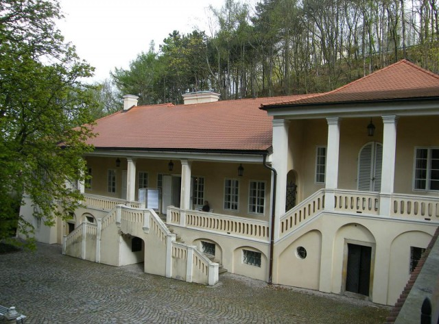 Вилла Бертрамка (Vila Bertramka)