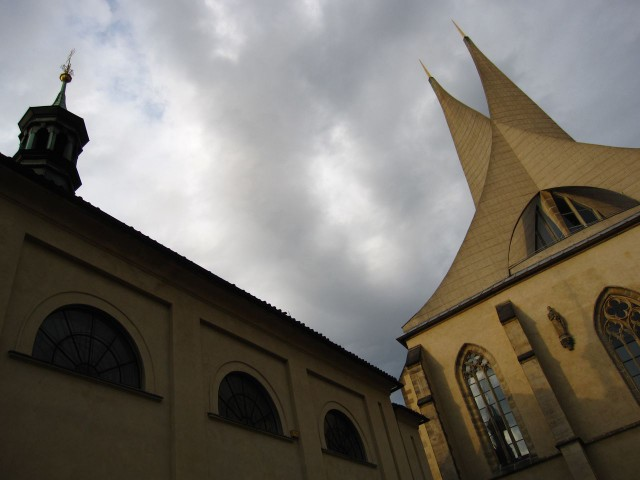 Эмаузский монастырь (Emauzský klášter).
