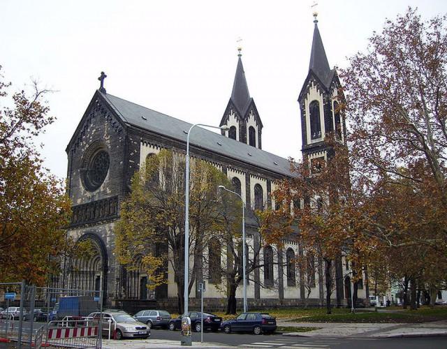 Карлинский храм святых Кирилла и Мефодия (Kostel sv. Cyrila a Metodeje Karlin)