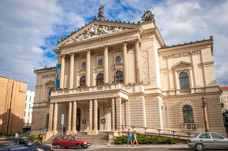 Оперный театр в Праге
