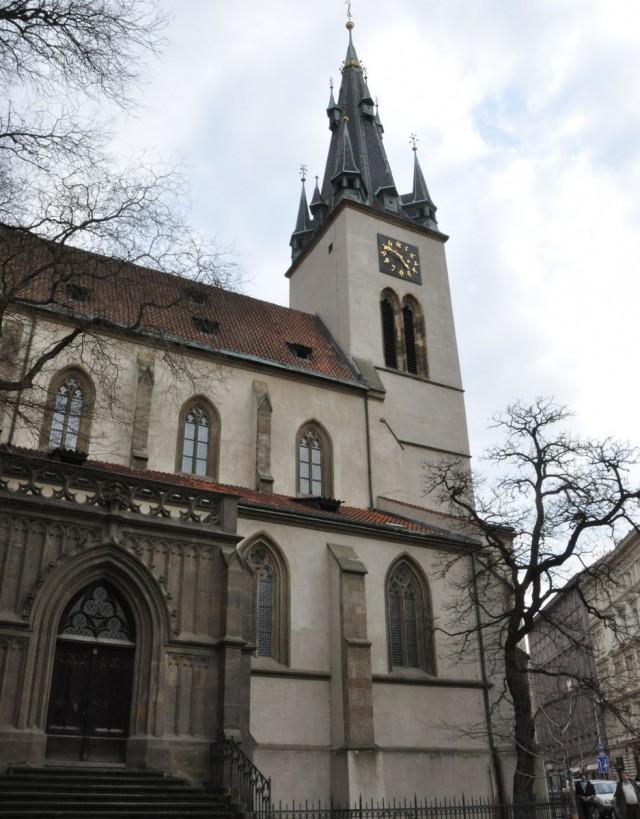 Костёл Святого Штепана (Kostel svatého Štěpána)