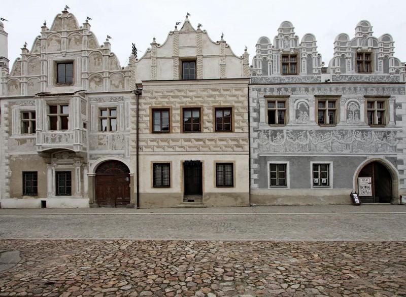 Домики в Славонице (Slavonice)