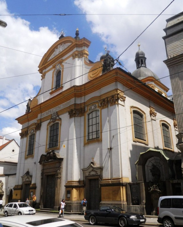Церковь Святой Троицы (Kostel Nejsvětější Trojice)