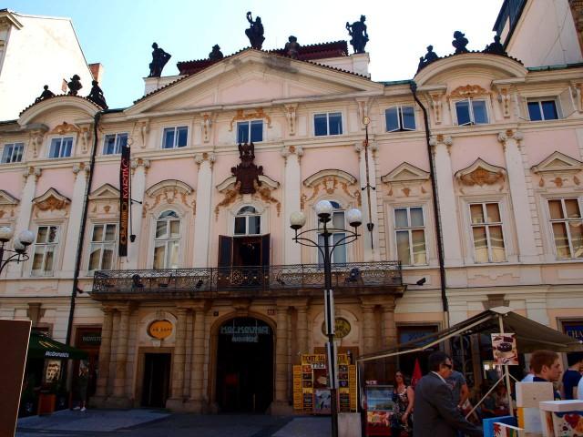 Дворец Сильва Тарукки (Palác Sylva-Taroucca).