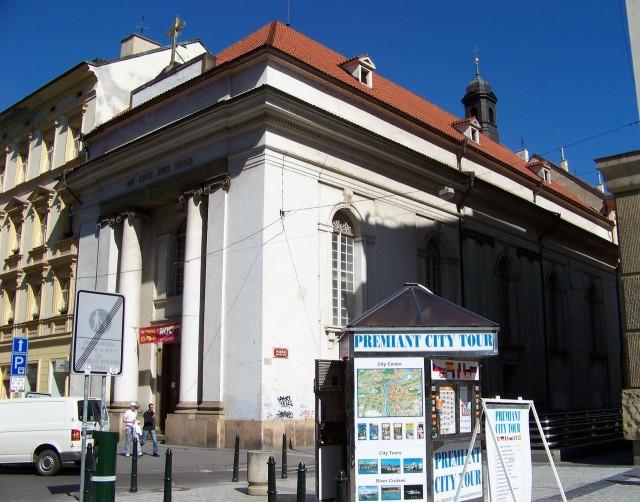 Костёл Св. Креста (kostel Sv. Kříže)