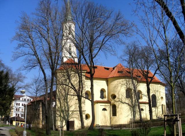 Церковь святой Екатерины Александрийской (Kostel svaté Kateřiny Alexandrijské)