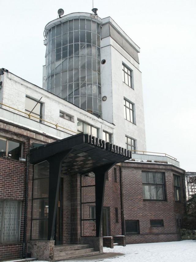 Ресторан с террасами (Barrandovské terasy) на Баррандове