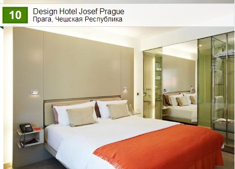 Design Hotel Josef Prague