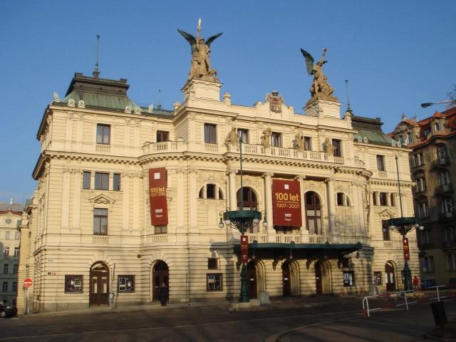 Виноградский театр (Divadlo na Vinohradech)