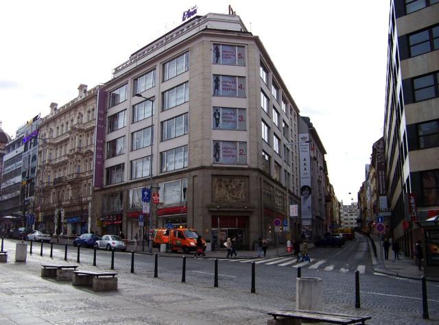 Дома Моды (Dům módy) на Вацлавской площади