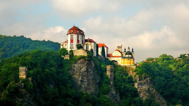 Вид на замок Вранов-над-Дыей