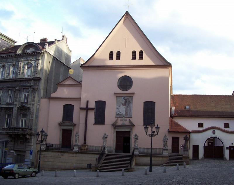 Костел Нахождения св. Креста (Kostel Nalezení svatého Kříže)