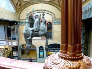 Современное искусство Праги. Уличные скульптуры