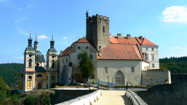 На входе в замок