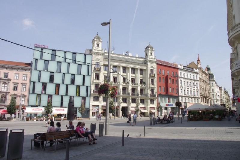 Площадь Свободы - старейшая площадь Брно