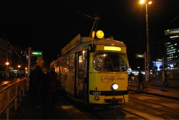 Вена, трамвай
