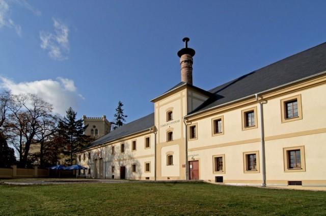 Замок Хише (Zámek Chyše), пивовар