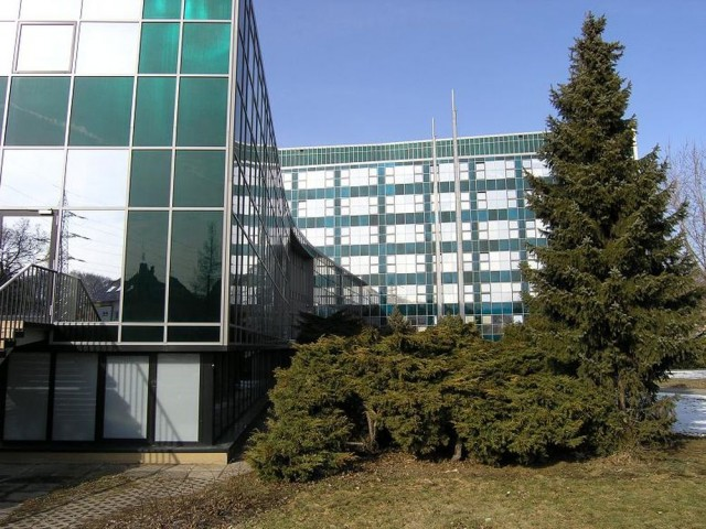 Здание Института макро-молекулярной химии