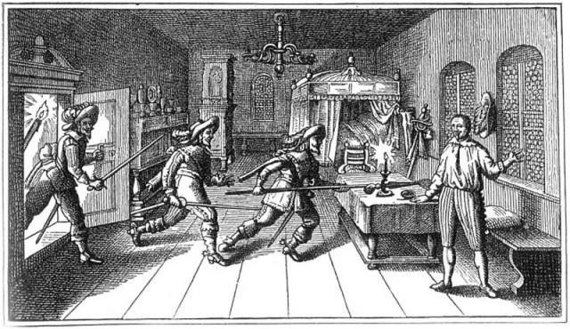 Убийство Валленштейна в Эгере (Хеб)